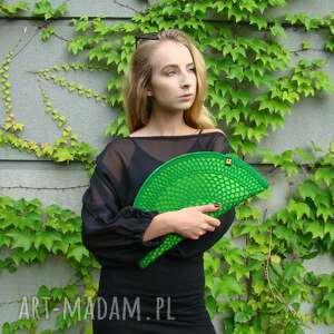 kopertówka torebka pierożek zielony