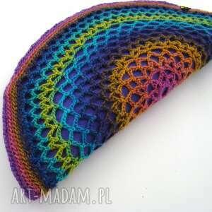 cieniowana torebka - pierożek kolorowy:)