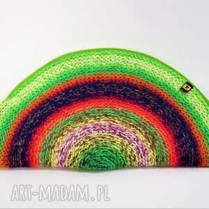 cieniowana wiosenna torebka pierożek:)