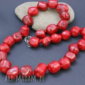 hand-made korale naszyjnik koral