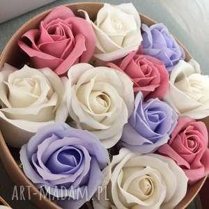 hand made kosmetyczki prezent dla babci super original gift. flowers with soap