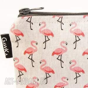 niekonwencjonalne kosmetyczki kosmetyczka flamingi