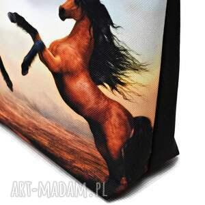 kosmetyczki kosmetyczka z-koniem konie, wodoodporna