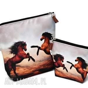 kosmetyczka z-koniem kosmetyczki konie, wodoodporna