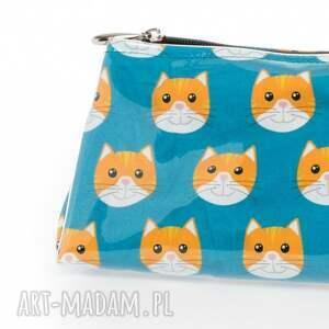 ręczne wykonanie kosmetyczki prezent kosmetyczka kotky s