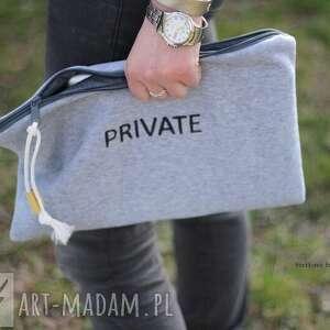 szare kosmetyczki kosmetyczka private