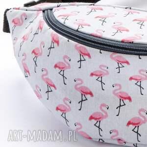 kosmetyczki nerka mini flamingi