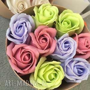 prezenty na święta super prezent original gift. flowers with soap 9 roses