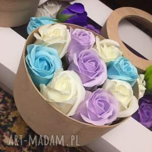 prezenty na święta super prezent box kwiaty z mydła