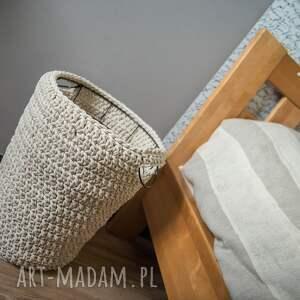 ręcznie wykonane kosze sznurek kosz multifunkcyjny handmade