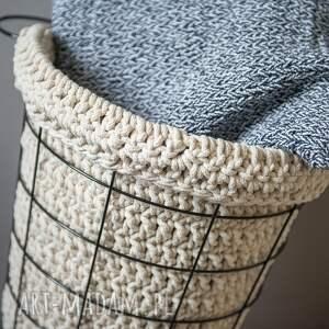 kosze sznurek kosz multifunkcyjny handmade