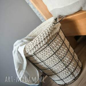 sznurek kosze kosz multifunkcyjny handmade