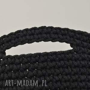 sznurek bawełniany kosz z uszami ze sznurka