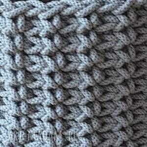 kosze kosz ze sznurka 8 mm - duży jasny