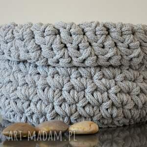 kosze bawełna kosz ze sznurka bawełnianego