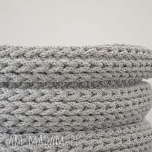 gustowne kosze kosz ze sznurka bawełnianego - duży