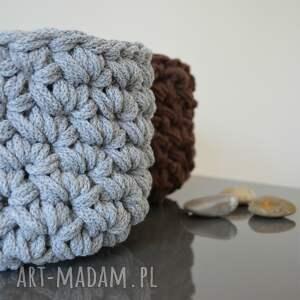 bawełna kosz ze sznurka bawełnianego