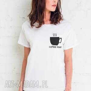 niebanalne koszulki oversize coffee lover t-shirt