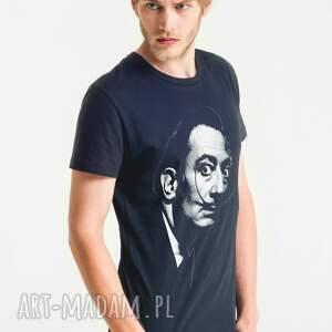 unikalne koszulki męski dali portrait t-shirt