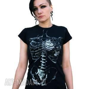 czarne koszulki halloween damska czarna koszulka ze