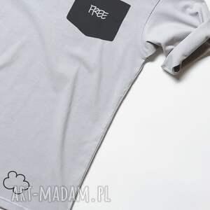 napis koszulki free pocket tshirt unisex