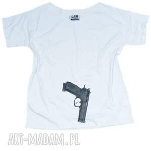 koszulki oversize gun girl t-shirt