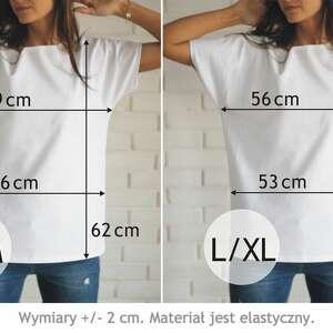 koszulki koszulka jeż bawełniana biała