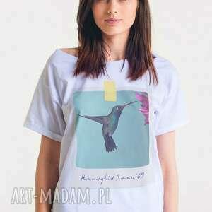 hand made koszulki oversize koliber -koszulka damska