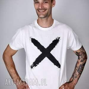 t shirt koszulki koszulka biała x - męska