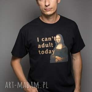 unikatowe koszulki vinci koszulka (t-shirt) i cant adult