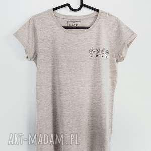 koszulki koszulka z haftem love