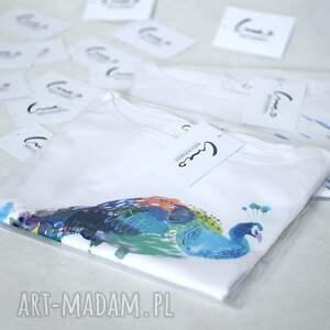 trendy koszulki koszulka lis bawełniana biała