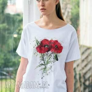 nietypowe koszulki oversize mak t-shirt