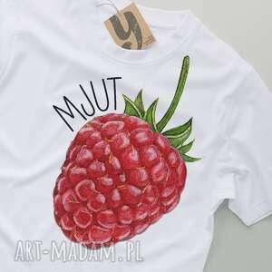 koszulki owoce mjut malina owocowy tshirt