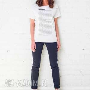 koszulki modern art oversize t-shirt