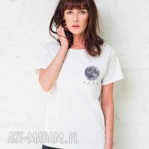 hand-made koszulki oversize moon lover t-shirt