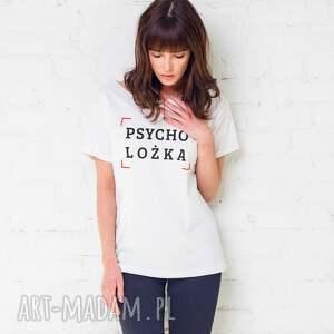 hand-made koszulki oversize psycholożka t-shirt
