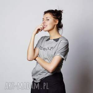 unisex koszulki shewolf koszulka z krótkim rękawem