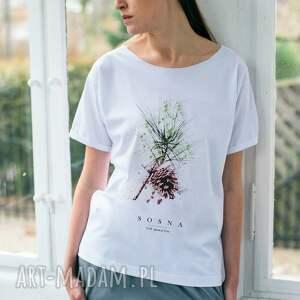 handmade koszulki oversize sosna t-shirt