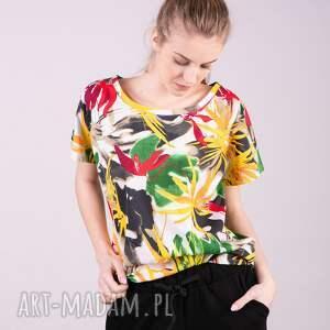 bluzy koszulki t shirt damski klasyczny egzotyczny
