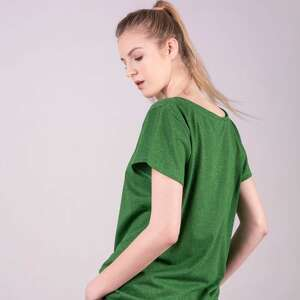 t shirt zielone t damski klasyczny zielony