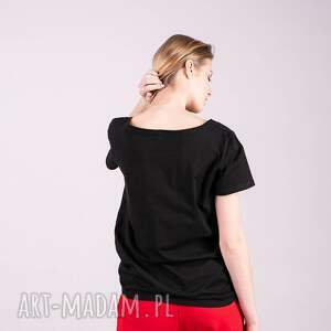 t shirt koszulki czarne t damski klasyczny czarny