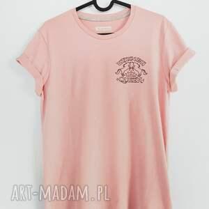 czarne koszulki haft t-shirt unicorn queen