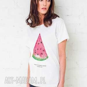 trendy koszulki oversize watermelon t-shirt
