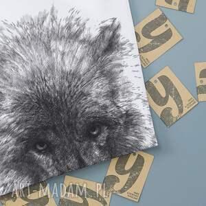 koszulki zwierzeta wilk koszulka z nadrukiem