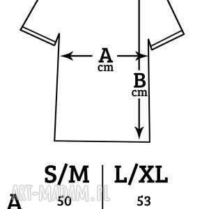 handmade koszulki oversize wrzos t-shirt