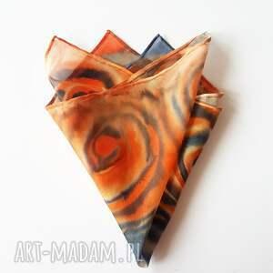 malowanposzetka krawaty ręcznie malowana poszetka