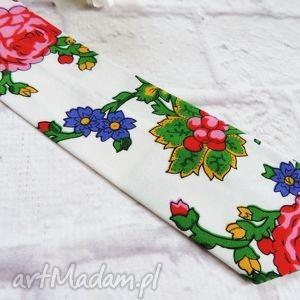 efektowne krawaty krawat męski góralski kwiaty folk