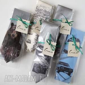 krawaty krawat z nadrukiem - układ