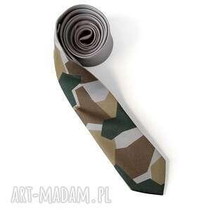 krawaty nadruk krawat z nadrukiem moro